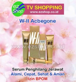 WII | W2 | W-II Acbegone Set 3 In 1 (Moisturizer / Moisturizing Gel + Cleanser + Peel Off Mask Gel / Masker) Serum Penghilang Jerawat Alami Asli Ez Shop Tv Shopping Asia Pacific Izin BPOM Indonesia