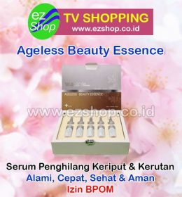 WII | W2 | W-II La Reina Ageless Beauty Essence Serum Penghilang Kerutan & Keriput Alami Asli Ez Shop Tv Shopping Asia Pacific Izin BPOM Indonesia