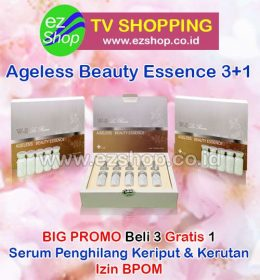 WII | W2 | W-II Lareina Ageless Beauty Essence Serum Penghilang Keriput & Kerutan Alami Asli Ez Shop Tv Shopping Asia Pacific Izin BPOM Indonesia