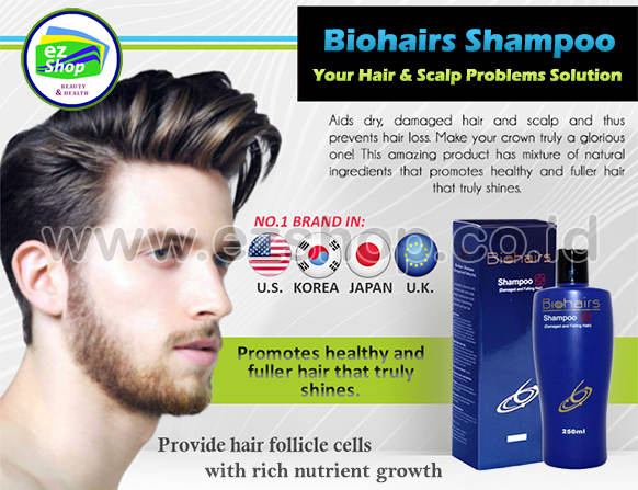 Bio Hair / Biohairs / Biohair Shampoo | Shampo, Obat, Serum, Tonic Anti Rambut Rontok & Ketombe Alami Asli Ez Shop Tv Shopping Asia Pacific Indonesia