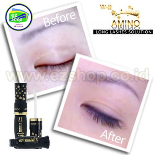 WII / W-II / W2 | Amino Long Lashes Solution | Obat, Serum Penumbuh, Pelebat, Pemanjang, Pelentik, Penebal Alis & Bulu Mata Alami Asli Ez Shop Tv Shopping Asia Pacific Indonesia